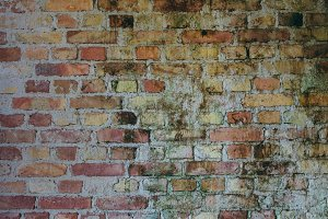Old Brick Wall, Industrial Building