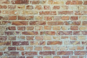 Light Brick Wall as Background Image