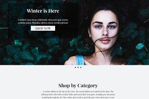 Anathema eCommerce HTML Template