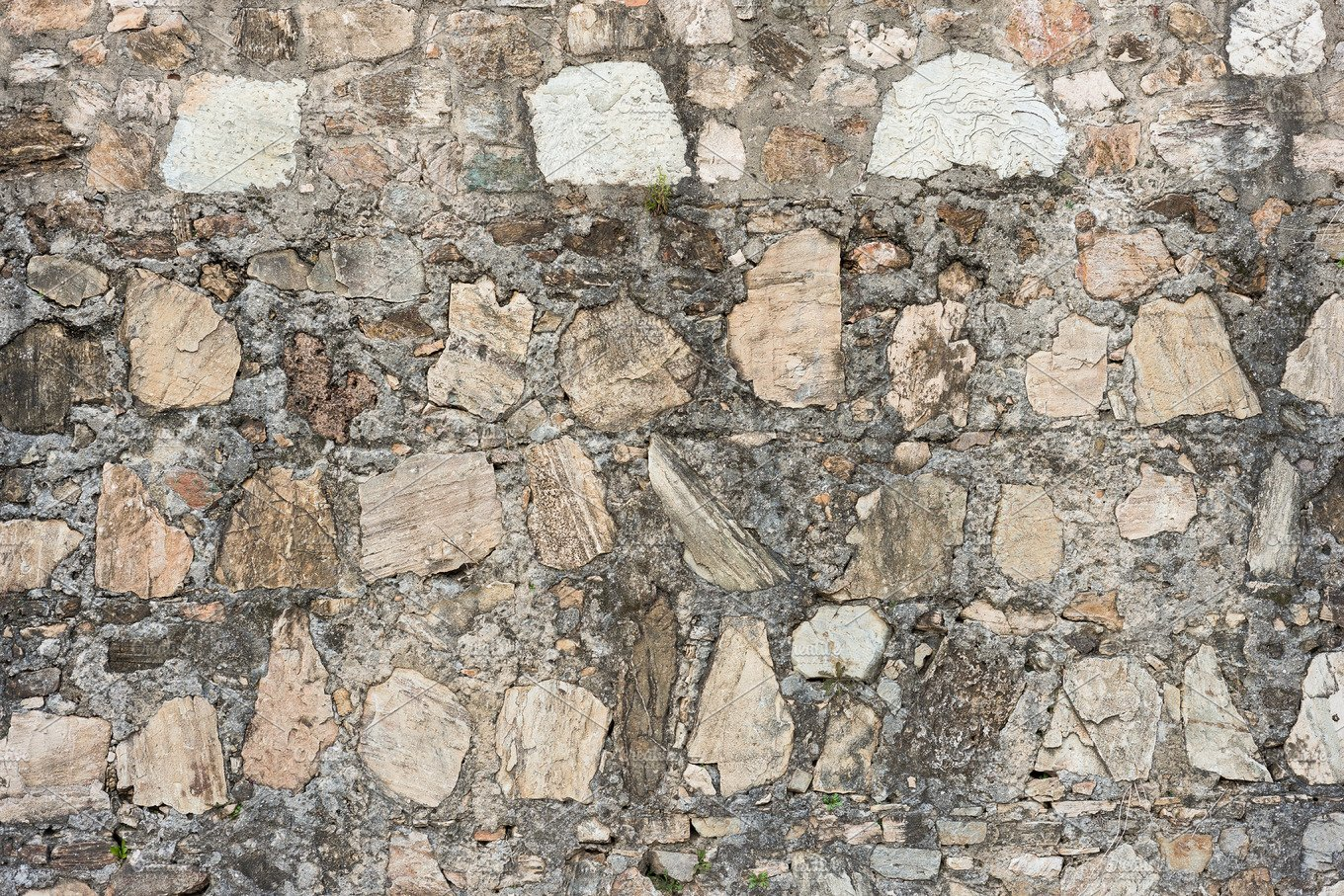 Stone Wall Rustic Texture Architecture Photos Creative Market