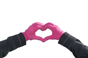 Hands Creating Heart Shape