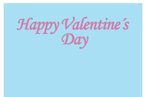 Simple Valentine Day Background