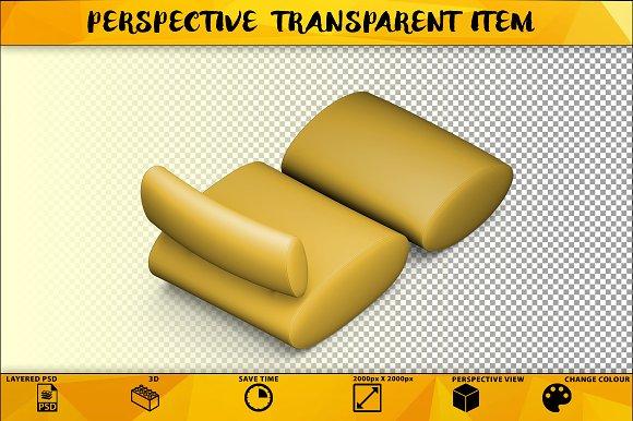 Sofa Isolated Object