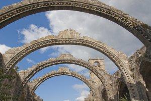 Stone Arcs and Ruins church