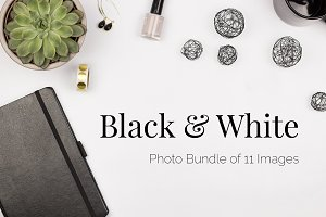Black & White Stock Photo Bundle