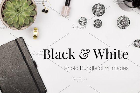 Black White Stock Photo Bundle