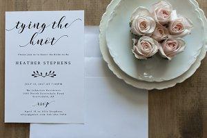 Bridal Shower Invitation - Editable