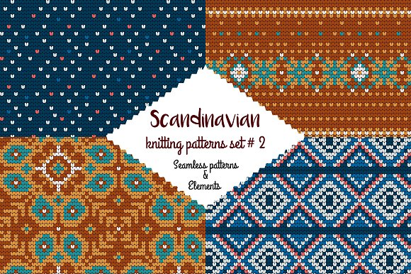 30 Scandinavian Knitting Patterns #2