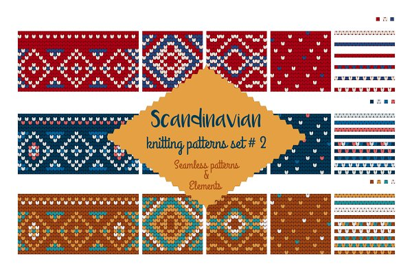 30 Scandinavian Knitting Patterns #…
