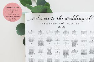 bridal shower seating chart template - natural wedding invitation template invitation templates