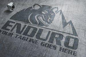 Enduro | Wolf | Logo Template
