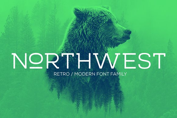 NORTHWEST RETRO MODERN FONT-FAMILY