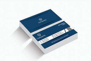 Stylish Blue Business Card