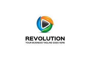 Revolution Logo Template
