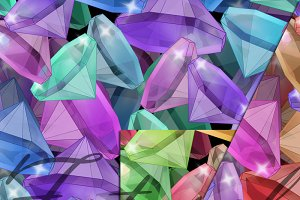 Placer precious stones. 3 JPG