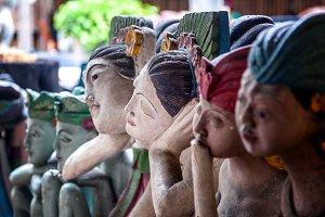 Stone Thai lady