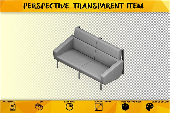 Sofa Isolated Item