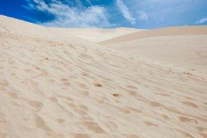 Hot desert, landscape