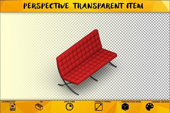 Sofa Isolated Item