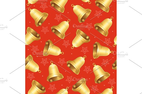 Bells Background Pattern
