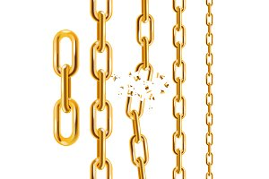 Chain Collection. Vector
