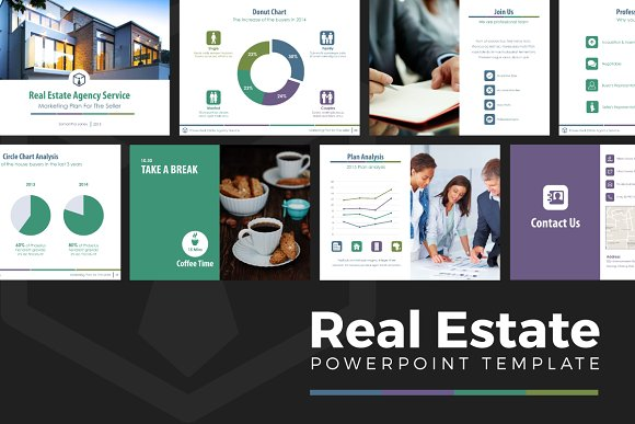 real estate powerpoint template v 1 presentation templates
