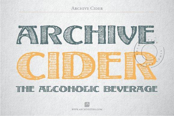 Archive Cider