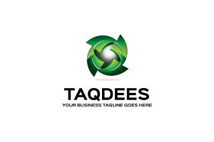 Taqdees Logo Template