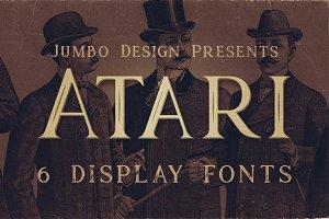 Atari - Vintage Style Font