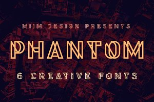 Phantom - Display Font