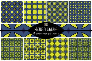 Set 40 - 8 Seamless Patterns