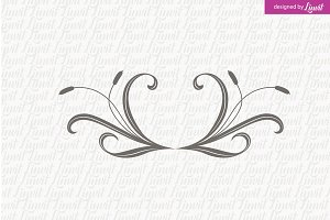 Floral Wedding Monogram