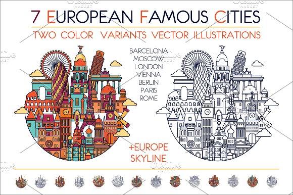 Europ Famous Cities