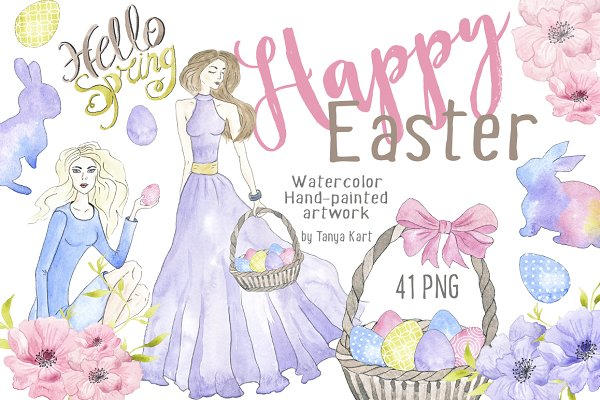 Happy Easter Spring Collection