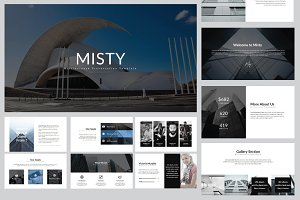 Misty Multipurpose Powerpoint