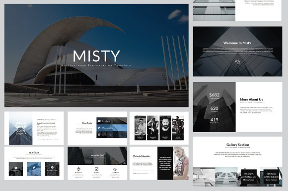 Misty Multipurpose Powerpoint