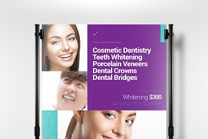 A3 Dental Clinic Poster Template