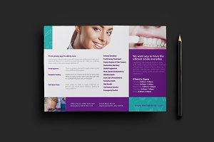 Dental Clinic Flyer Template v2