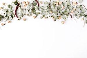 Roses & Eucalyptus