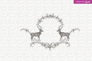 Rustic Wedding Logo