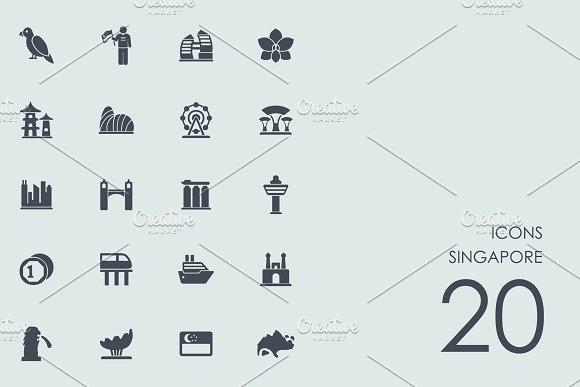 Singapore Icons