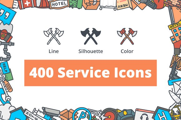 400 Service Icons
