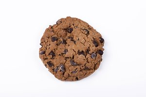 Cookie with chocolate drops
