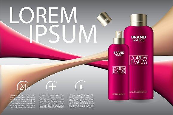 Makeup Cosmetic Bottles