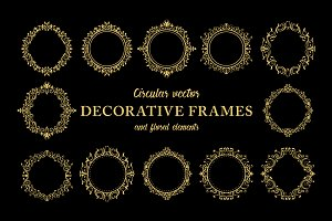 Floral Decorative Ornate Frames