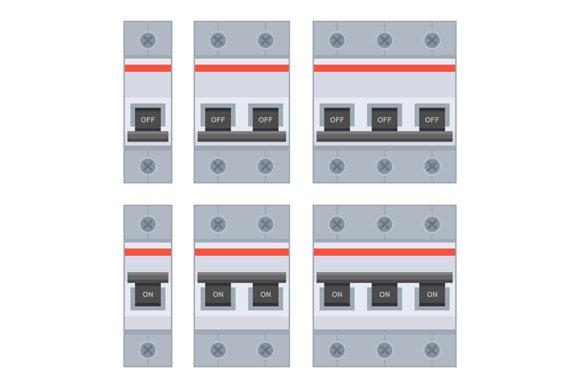 Circuit Breakers Set
