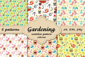 Gardening collection patterns