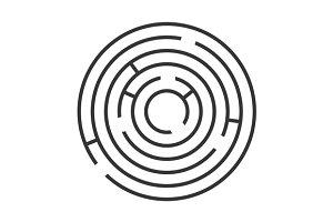 Circle Ring Maze