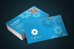 Engineer Business Card + Bonus