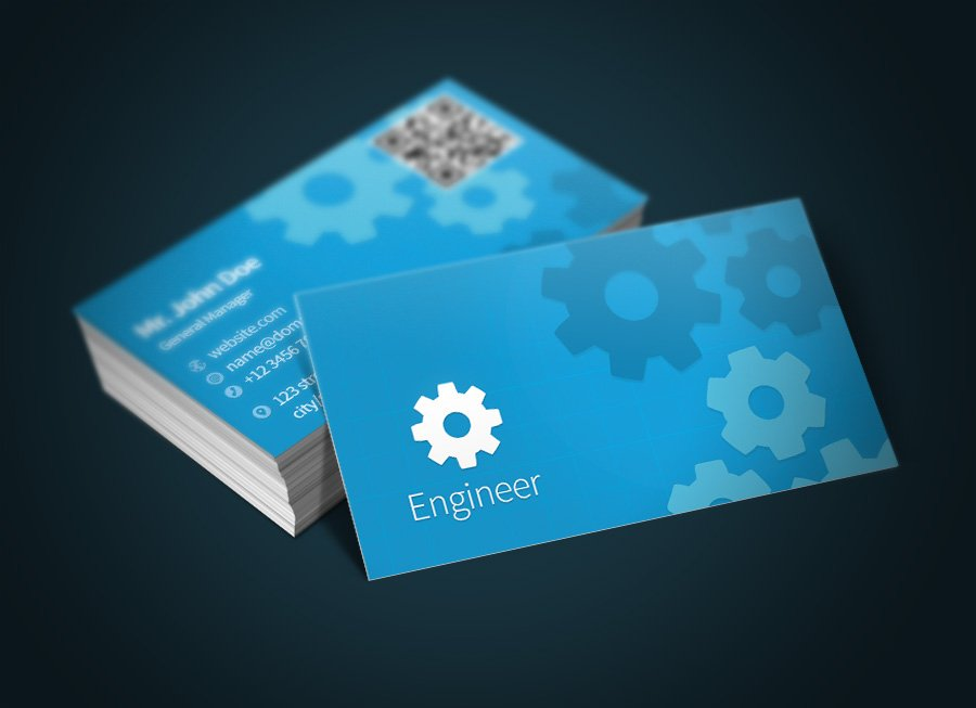Engineer business card bonus business card templates creative engineer business card bonus business card templates creative market flashek Images